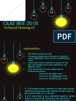 QUIZ BEE FOR TECHDRAW7