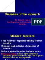 Disease of the Stomatch