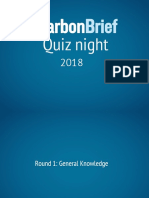 The Carbon Brief Quiz 2018