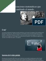3 ecuaciones matemáticas