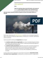 ¿Qué Es La Huella de Carbono_ - Ecointeligencia - Cambia a Un Estilo de Vida Sostenible!