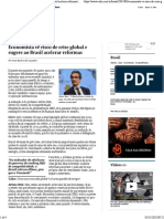 Globalism - Economista Vê Risco de Crise Global e Sugere Ao Brasil Acelerar Reformas _ Valor Econômico (1)