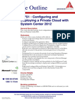 Configuring and Deploying a Private Cloud With System Center 2012