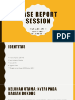 CRS - Perianal Abses