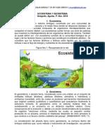 Ecosistema y Geosistema