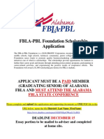 fbla  foundation district scholarship application