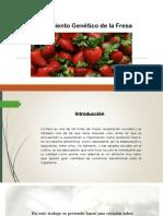 biotecnologia de la fresa
