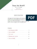 BiBTeX Manual