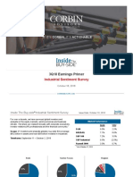 3Q18 Industrial Sentiment Survey October 2018