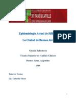 Epidemiología de Sífilis en La Ciudad de Buenos Aires y Al Rededores