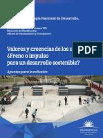 Valores y Creencias de Los Uruguayos