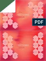 Calendario Aspectos Astrológicos Octubre 2018