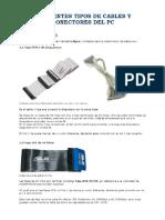 Tipos de Cables Internos y Externos de una pc