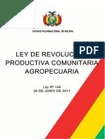 Ley de Revolucion Productiva
