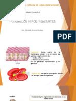 CLASE 7 FÁRMACOS HIPOLIPEMIANTES.pptx
