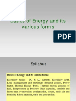 2.Basics of Energy and Its Various Forms