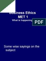 Bus Ethics MET 1