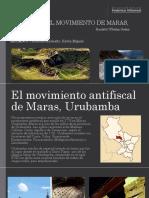 Cuzco 1777 - El Movimiento de Maras,Urubamba