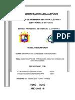 Cuestionario de Transmisión de Datos y Redes de Comunicaciones