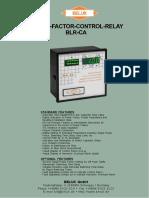 BLR-CA Banco Capacitores
