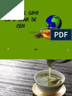 In jurul lumii cu o cana de ceai