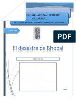 Ensayo Bohpal