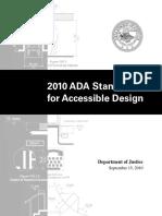 2010 Ada Standards