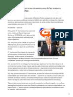CT Internacional Reconocida Como Una de Las Mejores Empresas Mexicanas