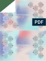 Calendario Aspectos Septiembre 2018
