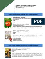 Livros de leitura orientada e autónoma PNL 2º3ºciclos