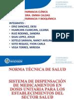 SISTEMA DE DISPENSACIÓN DE MEDICAMENTOS EN DOSIS UNITARIA