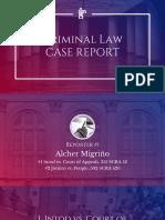 1-Arellano, Case Report Slides