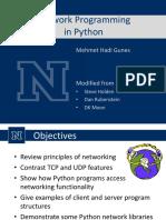 3 Python Network
