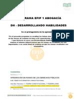 PROGRAMA-EFIP-I-ABOGACIA 2018 DH con los puntos + importantes