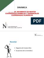 s06_ppt_leyes Del Movimiento - Coordenadas Cilindricas