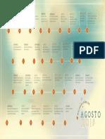 Calendario Mejores Dias Agosto 2018