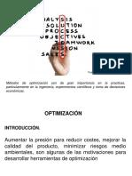 Clase 1 Optimizacion