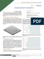 Editorial on Advanced Quantum Computers