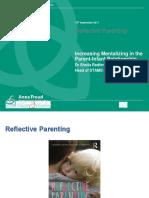 Dr Sheila Redfern Increasing Mentalizing in the Parent Infant Relationship