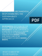 Business Environmental Responsibilities