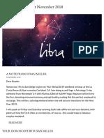 Libra Horoscope for November 2018 - Susan Miller Astrology Zone