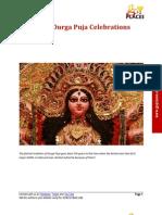 History of Durga Puja Celebrations