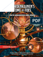 Mordenkainen's Tome of Foes Versão d.0.1 Preview
