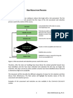 1.0 Risk Reduction Process