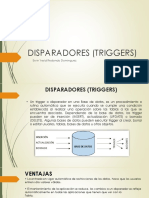 Disparadores (Triggers)