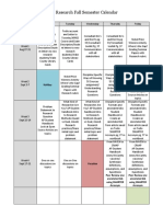 2018-2019 ap research calendar