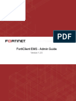 Forticlient Ems v1.2.5 Admin Guide