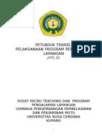 Cover Buku Juklak Pemantapan Ppl -2010-Mhs