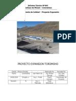 Informe de Rechazos de Concreto
