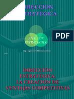 DIRECCIÓN ESTRATEGICA - 2017.ppt